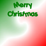 Merry Christmas. Red, white and green with Merry Christmas background Royalty Free Stock Photo