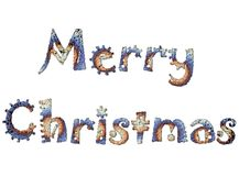 Merry Christmas 11 Stock Images