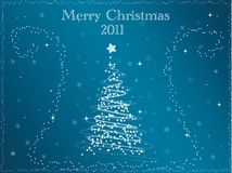 Merry christmas 2011 Royalty Free Stock Photography