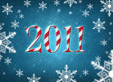 Merry christmas 2011 Stock Photo