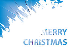 Merry Christmas 2013 Vector Image. Merry Christmas 2013 Greeting Card Royalty Free Illustration