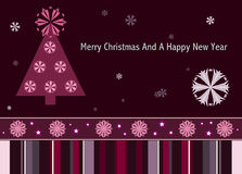Merry Christmas. And a Happy New Year Royalty Free Stock Images