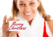 Merry Christmas Stock Image