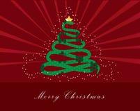 Merry christmas. Art background banner card celebration royalty free illustration