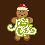 Merry Christmas. Vector merry Christmas greeting card vector illustration