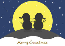 Merry Christmas. And Happy new year Royalty Free Stock Images