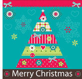 Merry_christmas8 Obrazy Royalty Free
