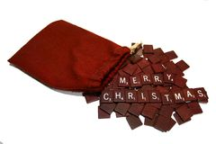 Merry Christmas. Christmas greeting Stock Images
