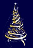 Merry christmas. Christmas background with baubles,  illustration Stock Images