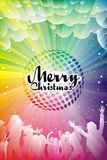 Merry Christmas. Colour. Happy Holidays royalty free illustration