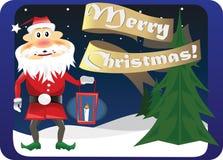 Merry christmas! stock illustration