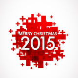 Merry Christmas 2015. Abstract Background Royalty Free Stock Photo