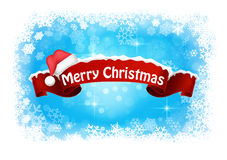 Merry christmas abstract background banner Stock Photography