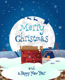 Merry christmas abstract background banner .vector. Eps 10 Royalty Free Stock Image