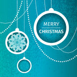 Merry Christmas Abstract background Stock Photo