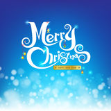 Merry christmas on abstract background with bokeh and light elem. Ent vector illustration vector illustration