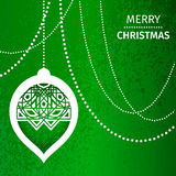 Merry Christmas Abstract background Stock Image