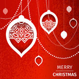 Merry Christmas Abstract background Royalty Free Stock Photography