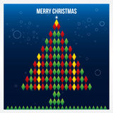 Merry Christmas Abstract Triangle Pattern. Background , Cover , Royalty Free Stock Photos