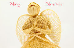Merry Christmas Angel Season's greetings Stock Photography