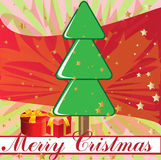 Merry christmas backgorund Stock Photography