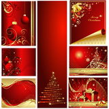 Merry Christmas background. Red Vector Merry Christmas background Royalty Free Illustration