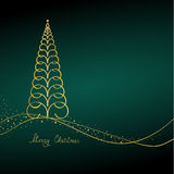 Merry Christmas Background. Christmas and New Year's background Stock Photography