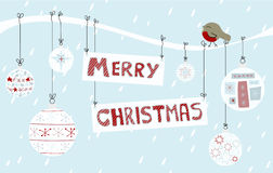 Merry Christmas Background Stock Image