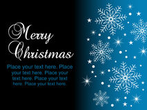 Merry Christmas Background Stock Photography