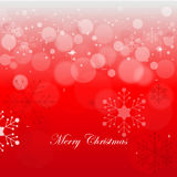Merry Christmas background. Red and white Merry Christmas background Stock Photo