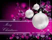 Merry Christmas background royalty free illustration