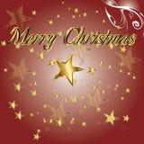 Merry Christmas background. Stock Photo