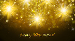 Merry Christmas Background. An abstract illustration of a Merry Christmas Background Royalty Free Stock Photography