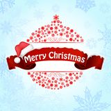 Merry christmas background banner Royalty Free Stock Photo