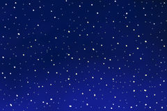 Merry Christmas background dark blue with snowflakes Stock Photography