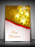 Merry Christmas background. EPS 10. Royalty Free Stock Images