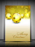 Merry Christmas background. EPS 10. Royalty Free Stock Photography