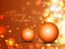 Merry Christmas background. EPS 10. Royalty Free Stock Photo
