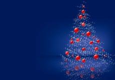 Merry Christmas. Christmas background  illustration blue Royalty Free Stock Photos