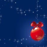 Merry Christmas. Christmas background  illustration blue Stock Photos