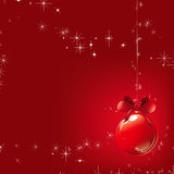 Merry Christmas. Christmas background  illustration red Royalty Free Stock Image