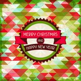 Merry Christmas background for invitation card Royalty Free Stock Images