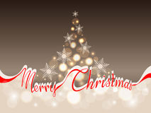 Merry Christmas background with space for text Royalty Free Stock Photo
