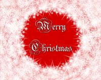 Merry Christmas background. Merry Christmas background with sparkle and snowflake vector illustration