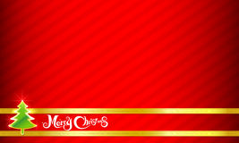 019-Merry Christmas background 003. Merry Christmas text and red background  illustration Stock Images