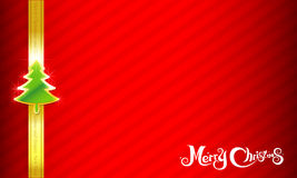 018-Merry Christmas background 002. Merry Christmas text and red background vector illustration Stock Photography