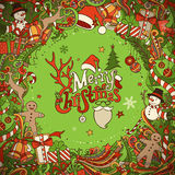 Merry Christmas background. Royalty Free Stock Photo