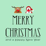 Merry Christmas background using as card vector illustration