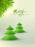 Merry christmas background. Vector merry chrstimas design background Royalty Free Stock Photos