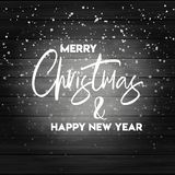Merry Christmas 2019 Background vector illustration